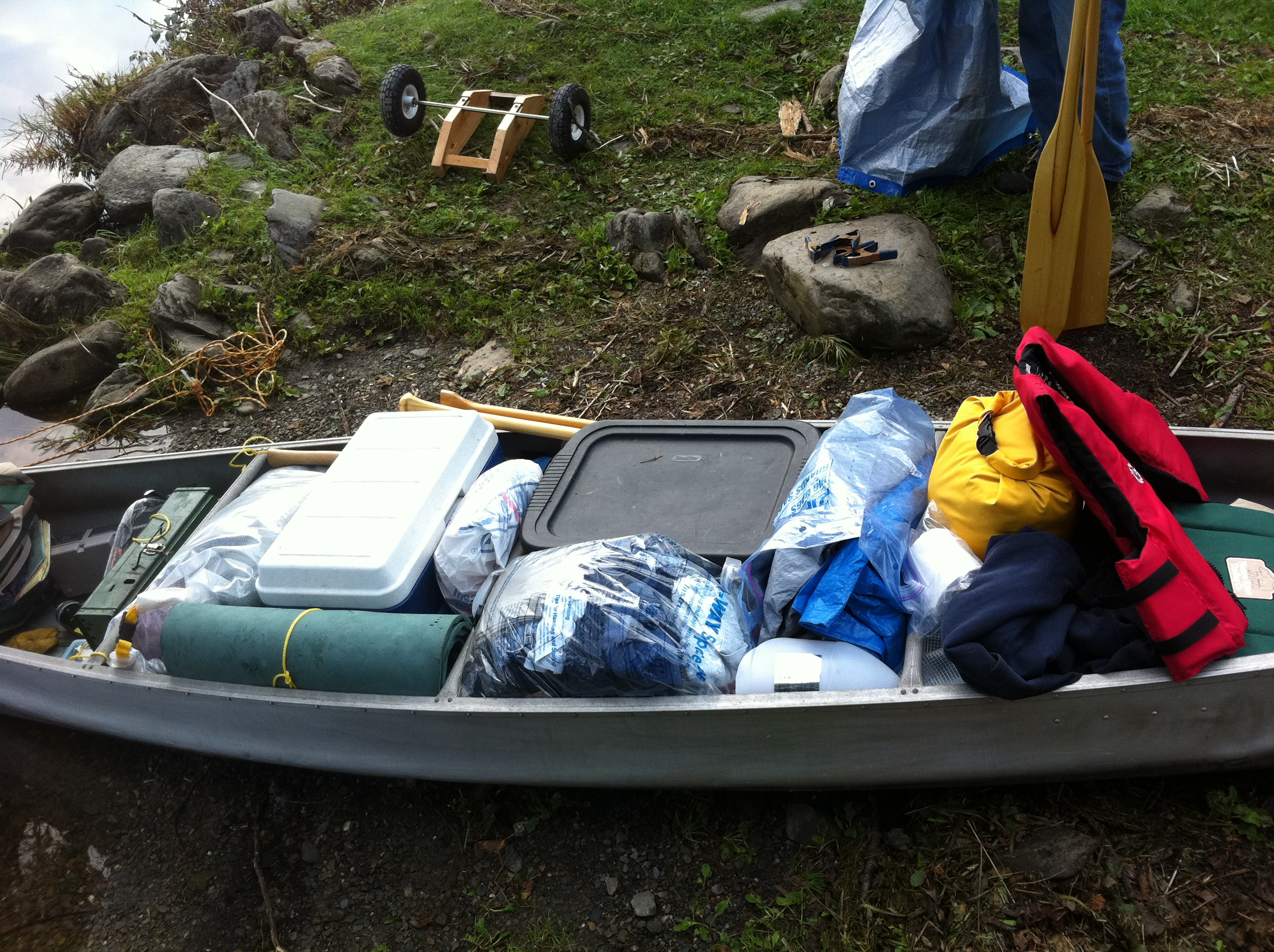 canoe camping checklist - what not to take